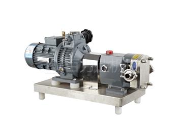 花生酱输送泵 凸轮转子泵 高粘度转子泵